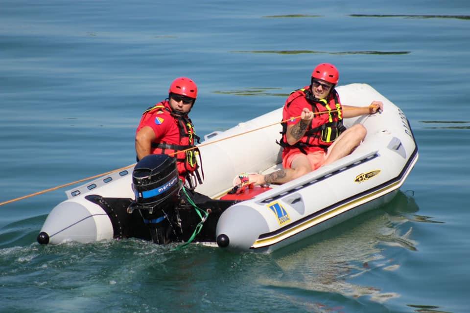 ISS Živinice obuka na vodi
