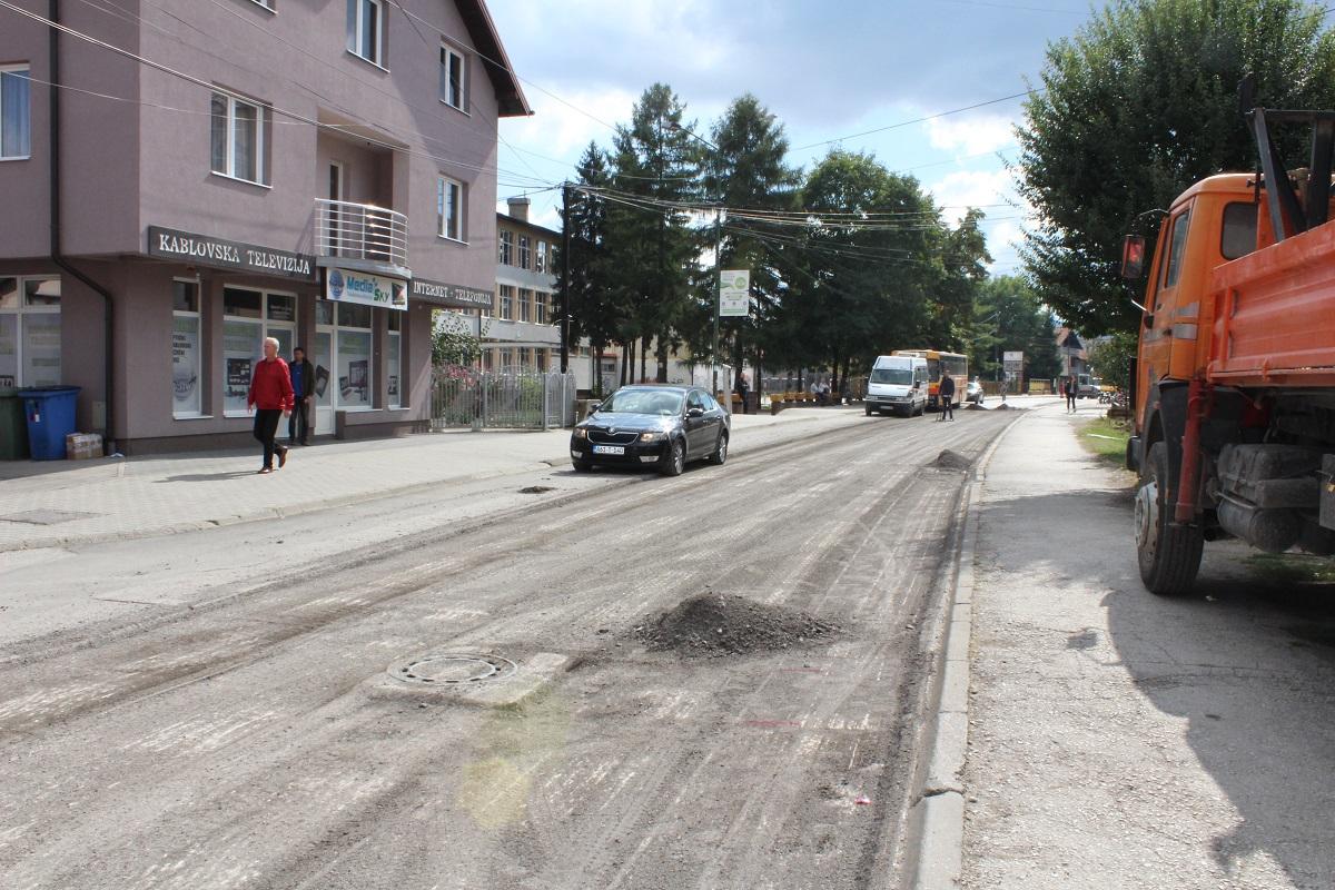 Rekonstrukcija glavne gradske ulice Živinice