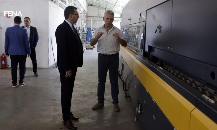 Federalni ministar Džindić posjetio kompaniju Termoglas