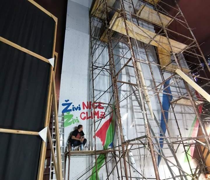 U Živinicama 18. septembra otvaranje jedne od najvećih umjetnih stijena za sportsko penjanje u BiH
